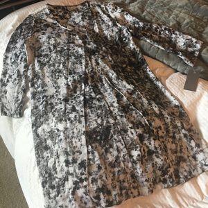 GO International for Target Black/White Dress
